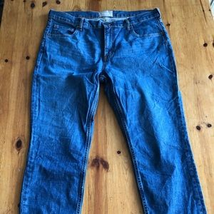 Everlane mid rise jeans size 33